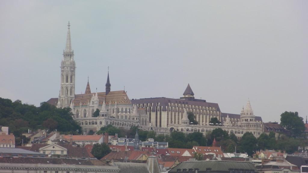Krátká zastávka v Budapešti