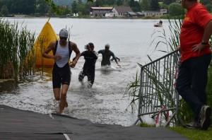 Pepa vybíhal z vody jako třetí, nakonec vybojoval skvělé šesté místo.